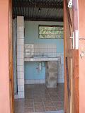 Douche/toilet huisje 1