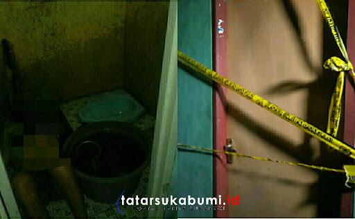 Mayat Tanpa Busana Ditemukan di Kamar Mandi Rumah Kontrakan di Cicurug