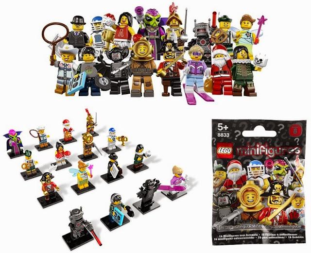 Lego Minifigures 8833 Series 8 One Random Pack bao gồm 16 Nhân vật Lego số 8