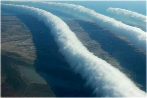 Облака глория в Австралии