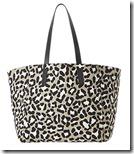 Gerard Darel Leopard Print Tote Bag