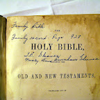 Front page of Bible