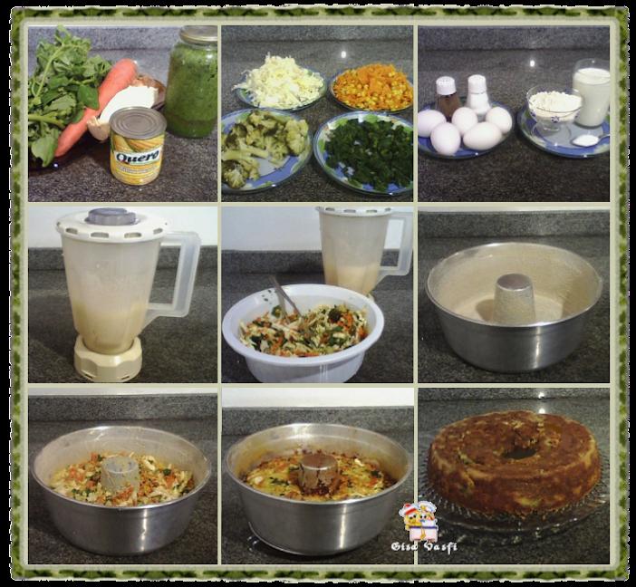 Pudim de legumes 2