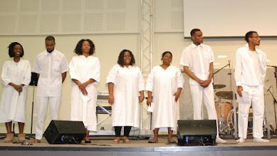 La présentation avant les baptêmes