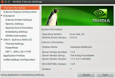 NVIDIA lanza la versión 319.23 de sus drivers gráficos para linux