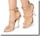 Steve Madden Gold Strappy Sandals