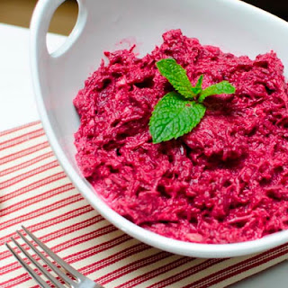 Beetroot and Horseradish Appetizer with Lemon Dressing Recipe
