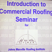 Introduction to Commercial Roofing Seminar in New York City, 2013