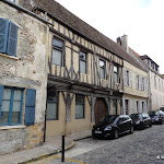 Rue de Paris, façade à colombages