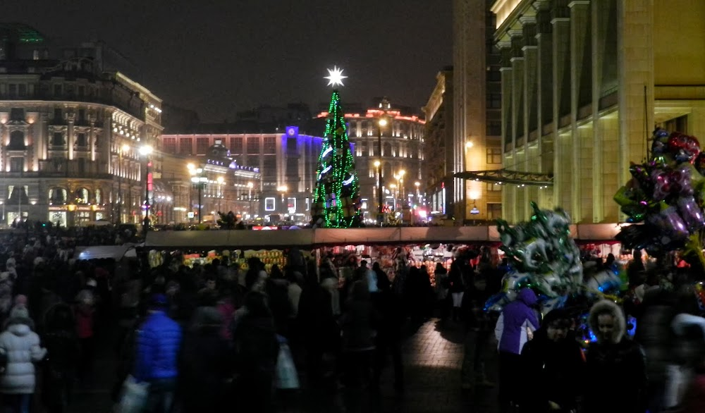 Christmas time on Red Square!