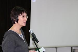Vodja simpozija Marta Zabret