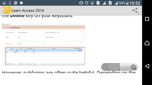Guide To MS Access 2016 screenshot 5