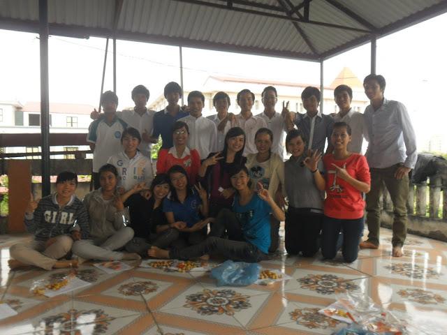 Buổi sinh hoạt tháng 11 nhóm SVPD tại Cổ Nhuế