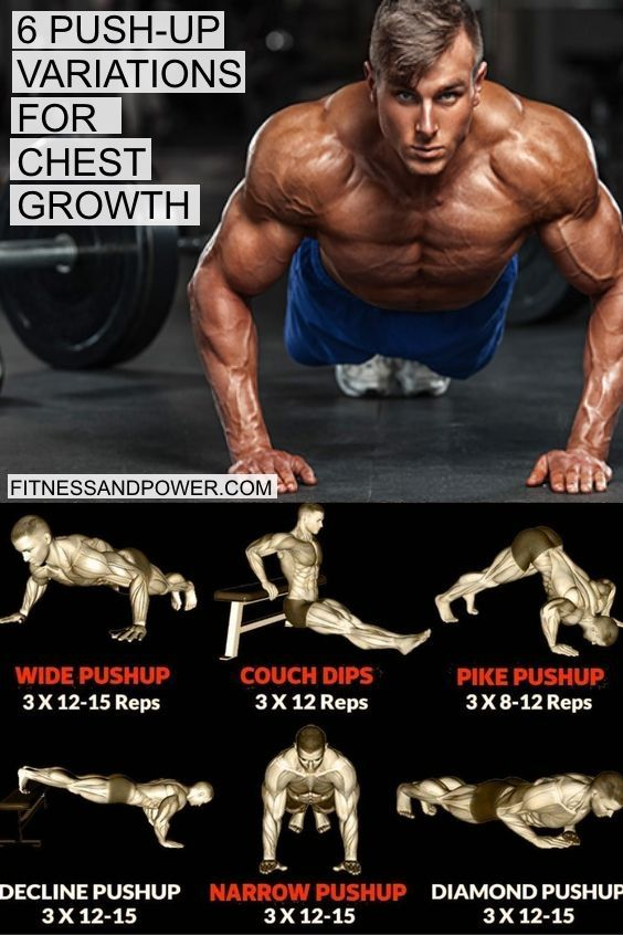 6 Push-up Variations for Chest Growth