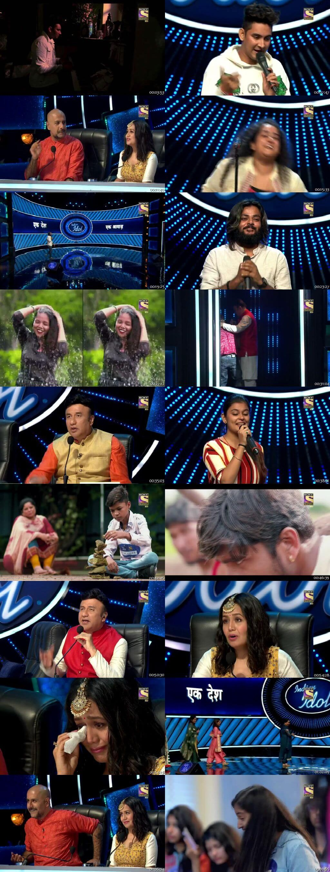 Screenshots Of Hindi Show Indian Idol 13th October 2019 Episode 02 300MB 480P HD