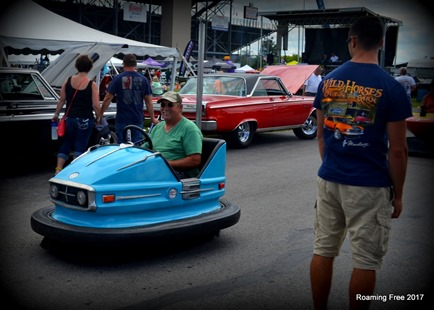 Bumper car -- that's awesome!