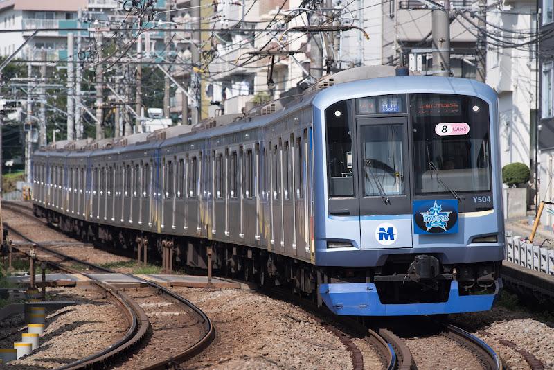 170910 妙蓮寺〜白楽のベイスターズ電車