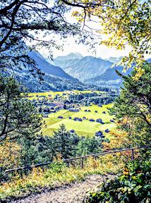 Wandern von Mittenwald via Ederkanzel und Grünkopf zum Lautersee
