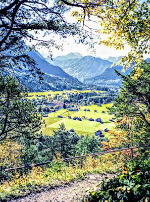 Mittenwald Ederkanzel Grünkopf Bayern