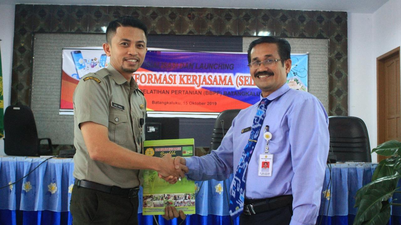 BBPP Batangkaluku Hadirkan Inovasi Berbasis Website, Dr. Sabir, S. Pt, M. Si Resmi Melauncing Aplikasi SEIRAMA