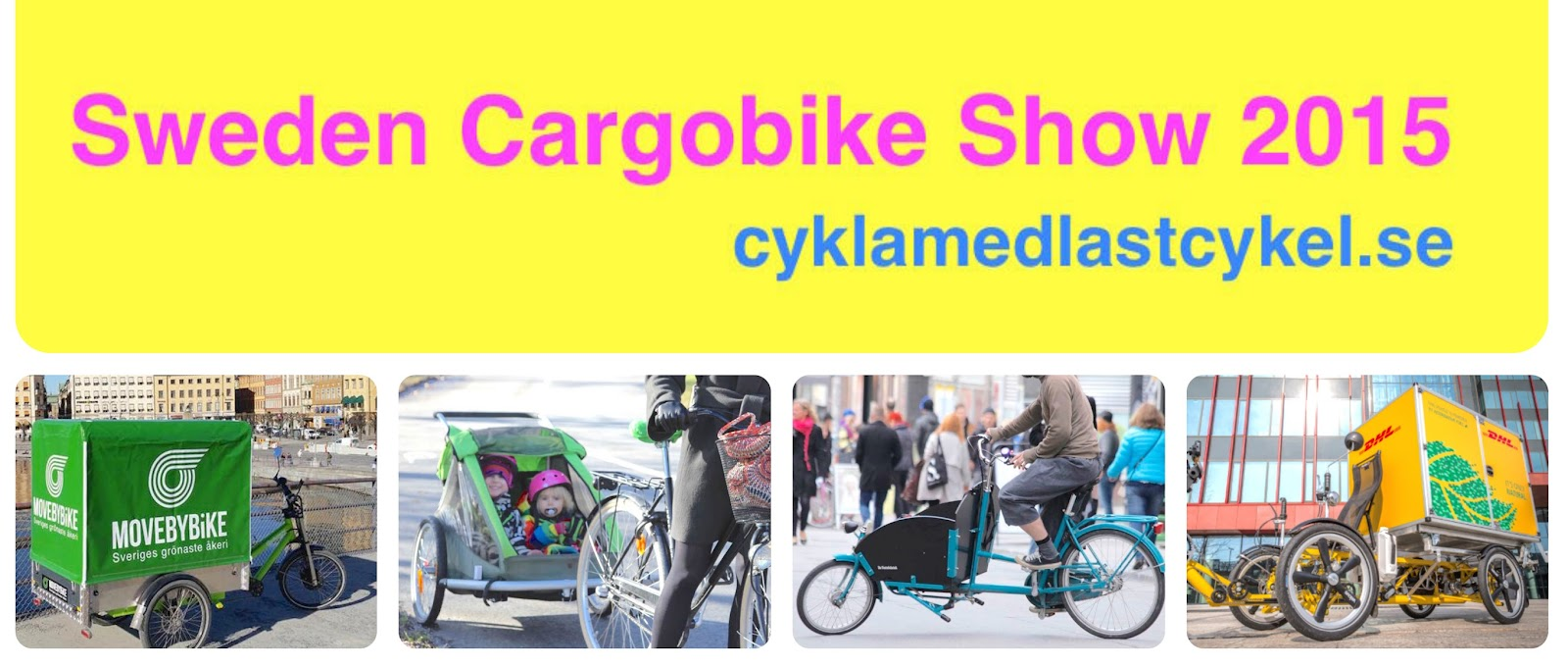 Sweden Cargobike Show 2015