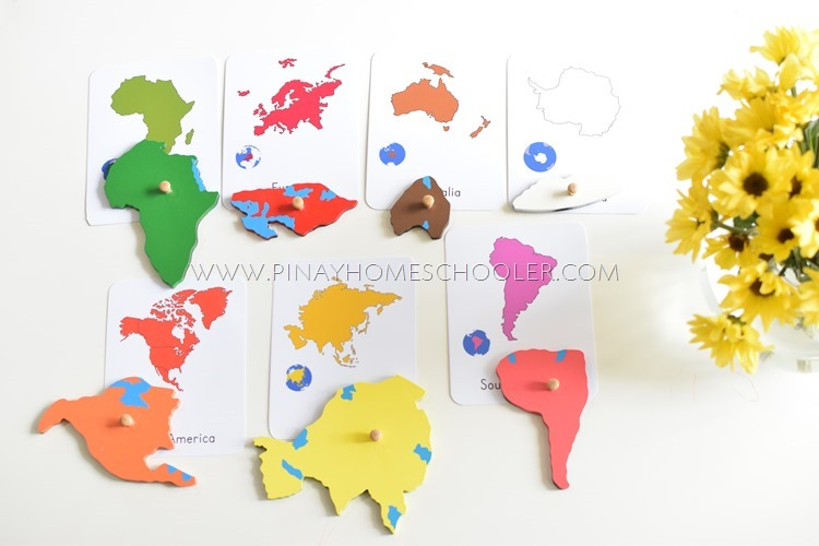 The Continents Learning Pack and Activity Sheets