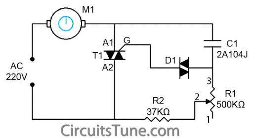 Simple FanRegulator Circuit ~ abnazinfotech kumbakonam