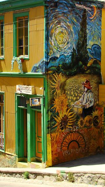 La bici en Valparaíso