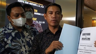 AHY Resmi Dilaporkan Polisi, Diduga Palsukan Akta Pendirian Partai Demokrat