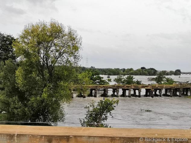 Old Bridge at Kaveri River, Shivasamudra, Karnataka
