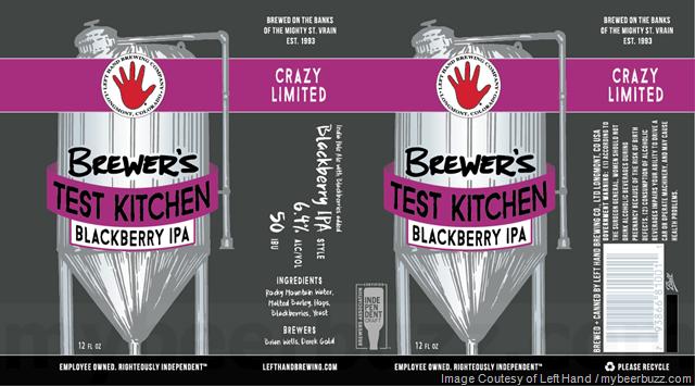 Left Hand Brewing Brewer's Test Kitchen Blackberry IPA