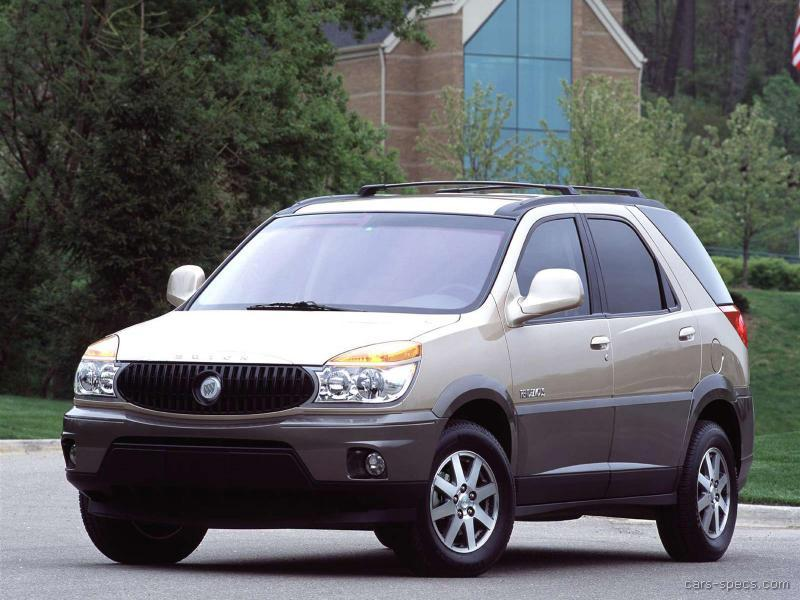 2004 buick rendezvous suv specifications pictures prices. Black Bedroom Furniture Sets. Home Design Ideas