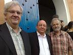 Germán Ruiperez, Omar Dudu y Mansur Escudero