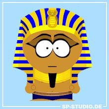 Photo: 22.10.2013: Pharao costume