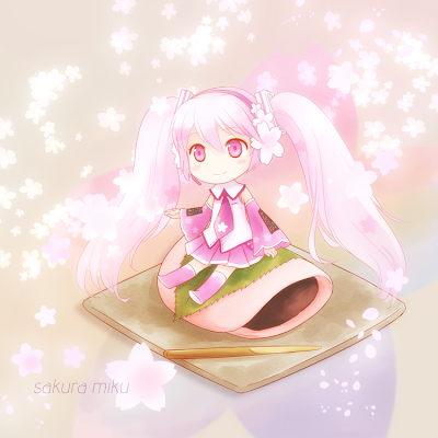 Sakura Miku Fanart by Arya032 on DeviantArt