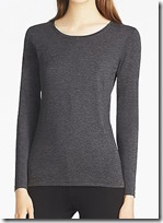 Uniqlo Heattech Long Sleeved Crew Neck Top