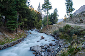 Morning walk towards the Naltar Bala, Naltar Valley