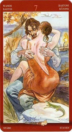 Таро сексуальной магии или таро магия наслаждений толкование