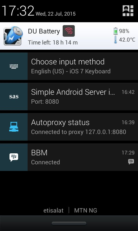 HOW TO USE THE 2GO 3GB WITH SIMPLE SERVER ON ANDROID
