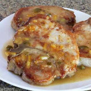 Quick and Easy Skillet Pork Chops with Marmalade Recipe