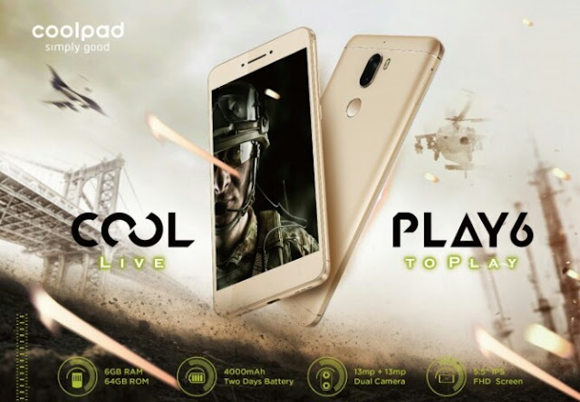 Coolpad Launches Cool Play 6 With 6GB RAM For N75,000 1
