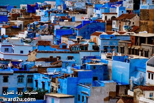 مدينة شفشاون المغربية  الجميلة