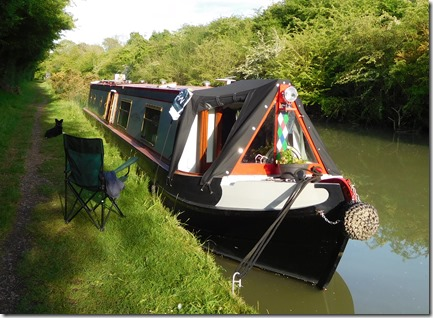 7 lovely mooring between welsh rd and wood locks
