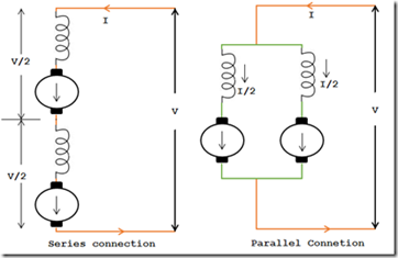 series-parallel-speed-control