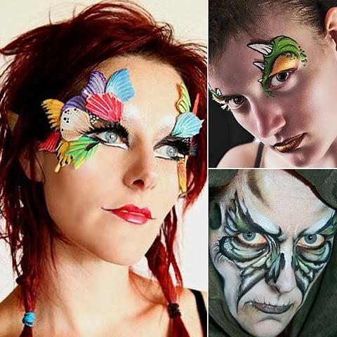 Quick fun Halloween face-Paint ideas when spending layover