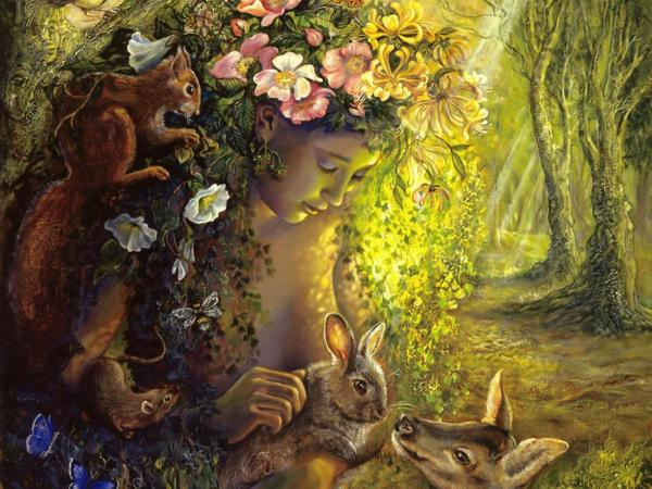 Goddess Of Animals, Goddesses