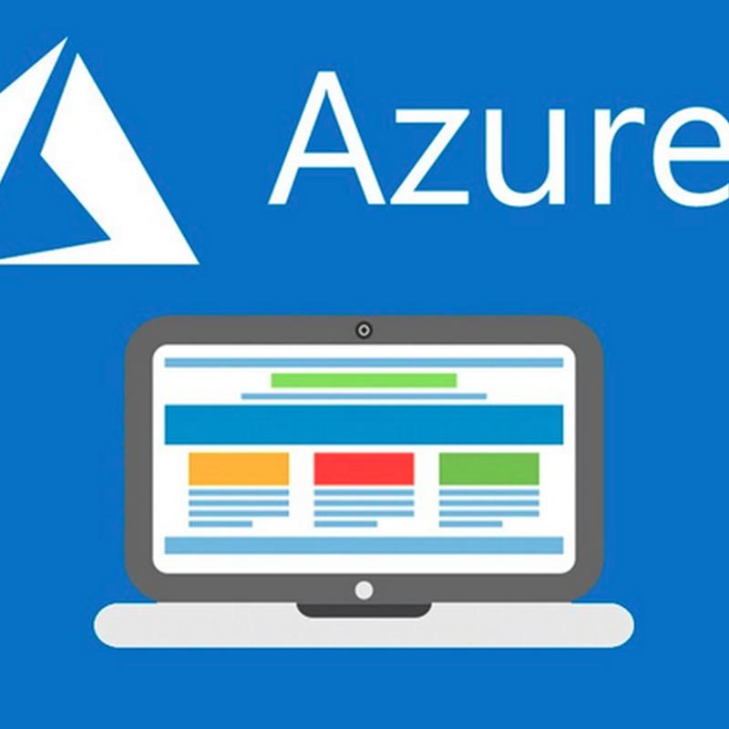 Crear un sitio web en Azure