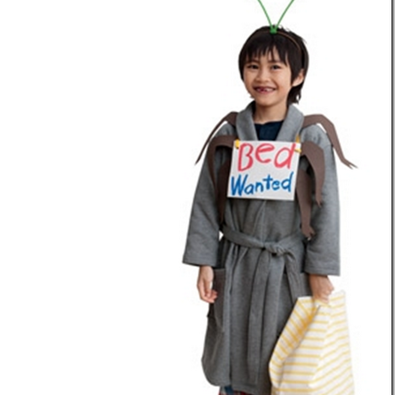 disfraz casero  de Chinche con moldes