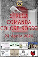 24 04 2020 Contest strega comanda colore Rosso