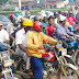 Okada Riders Clash With Police Officers In Lagos
